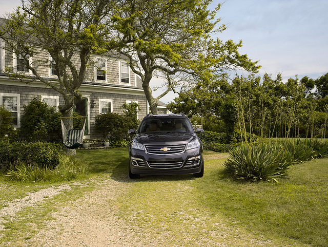 "2015 Traverse a ""Favorite Family Hauler"""