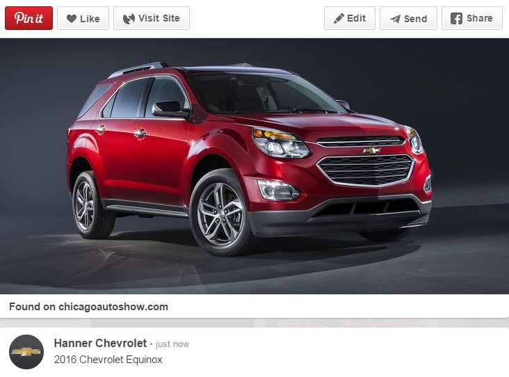 The 2016 Equinox Sports New Features At Chicago Auto Show