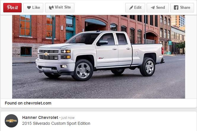 Chevy Silverado Custom Sport Edition