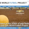 1 millionth One World Futbol