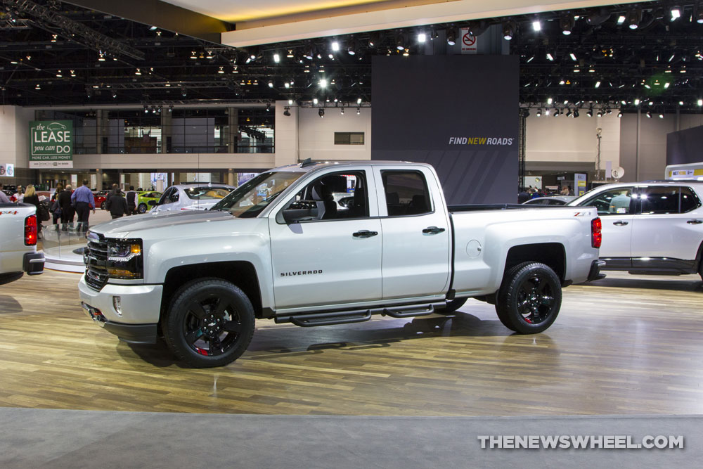Chevrolet Silverado at the Chicago Auto Show